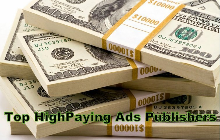 Best high paying ads publisher