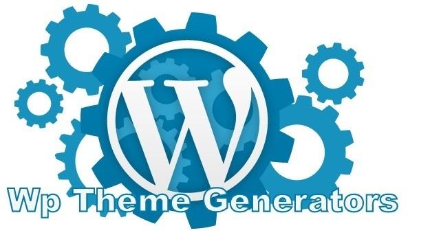How to create a custom wordpress theme with theme generator