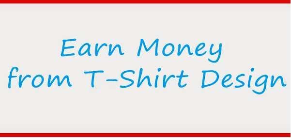 Make money online designing t-shirts easy steps