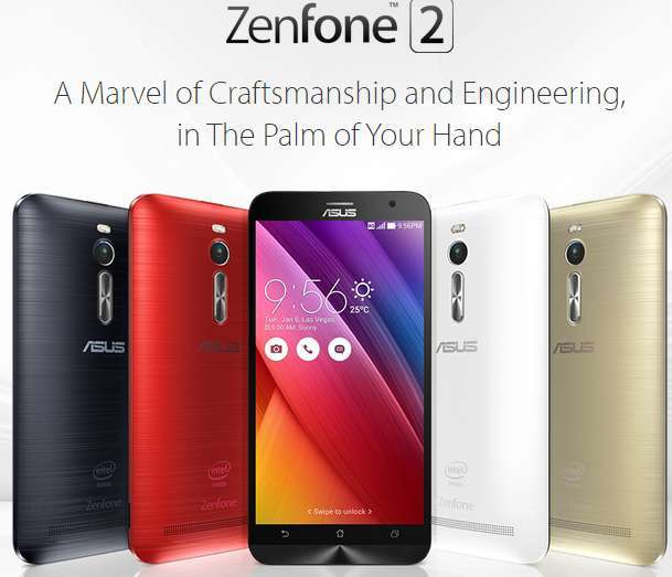 Asus ZenFone 2 price and specifications
