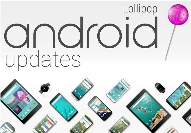 list of smartphones that will get lollipop update