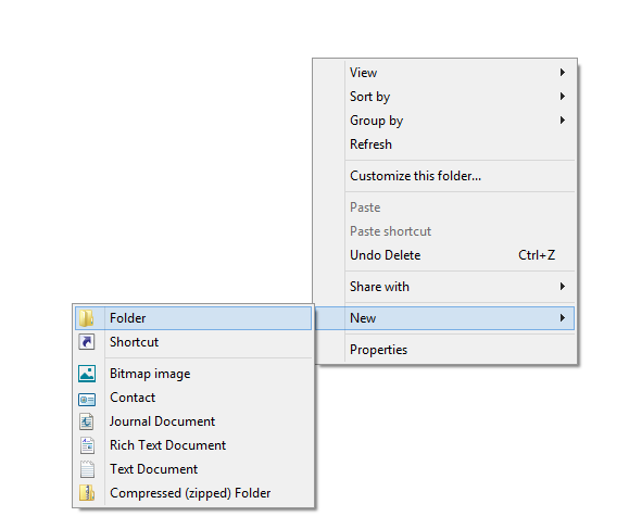 New -folder (FILEminimizer)