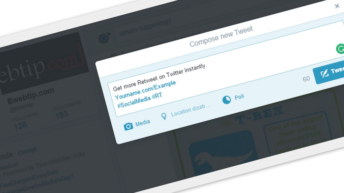 Get More Retweet on Twitter instantly