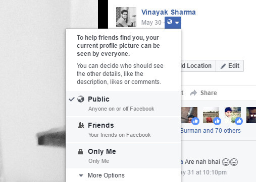 How To Make Your Profile Pic Unclickable Facebook ✓ The