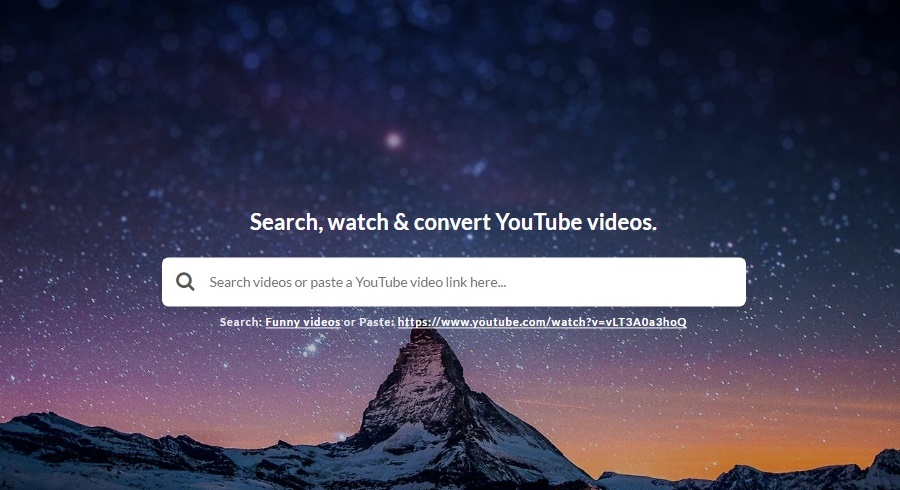 Youtube to music converter