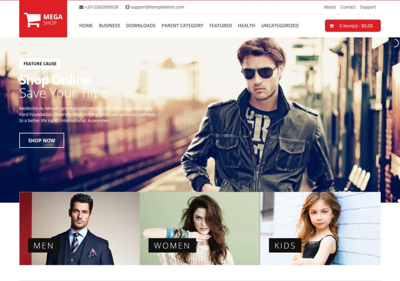 7 Best Free Responsive E Commerce Blogger Templates
