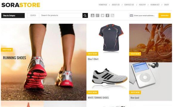 7 Best Free Responsive E-commerce Blogger Templates