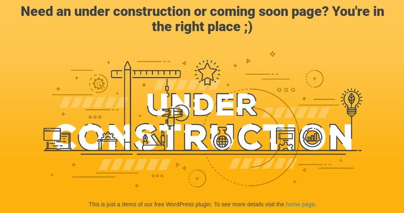 5 Best Under Construction Page plugins for WordPress