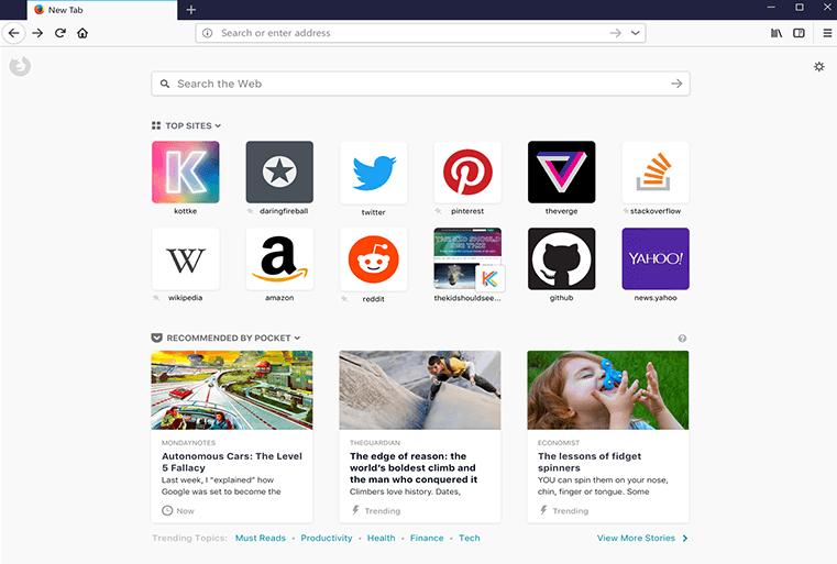 Chrome Alternatives