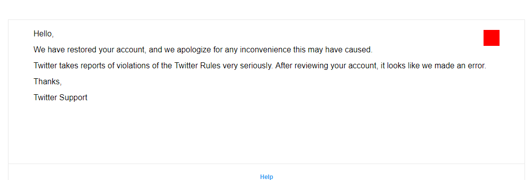 Recover Suspended Twitter Account